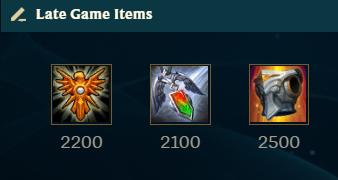 League of legends best options