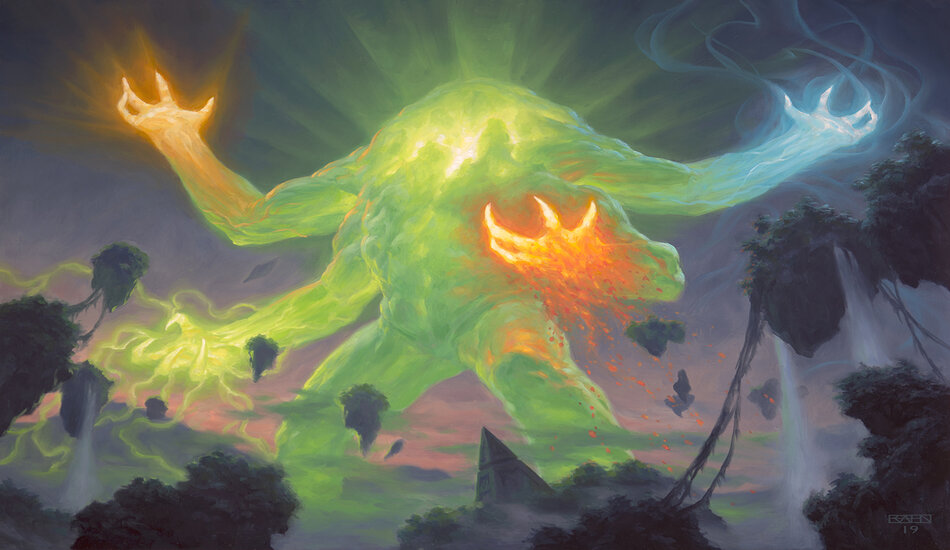 Omnath Lucky Clover And Escape To The Wilds Banned In Mtg Standard Dot Esports