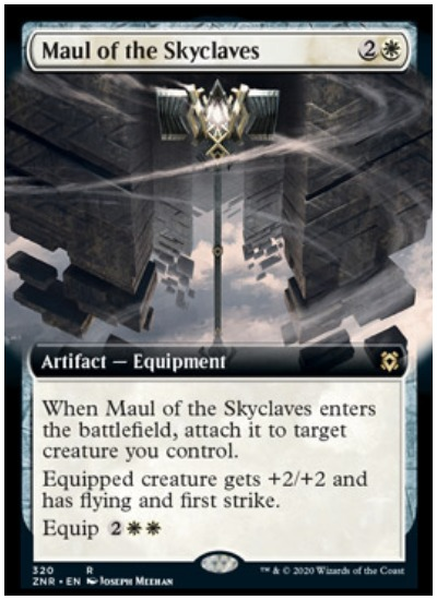 ZNR Maul of the Skyclave MTG