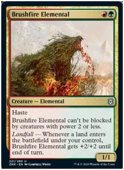 ZNR Brushfire Elemental
