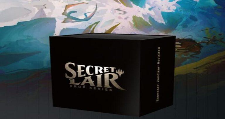 MTG Secret Lair Zendikar Revisited