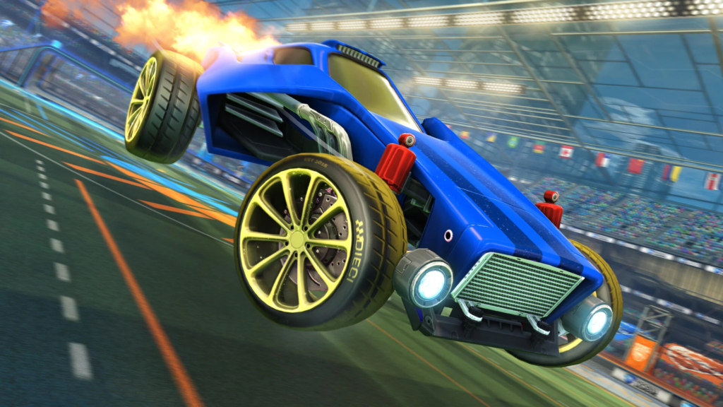 Rocket League S September Update Adds Epic Games Linking Cross Platform Progression Ahead Of Free To Play Dot Esports