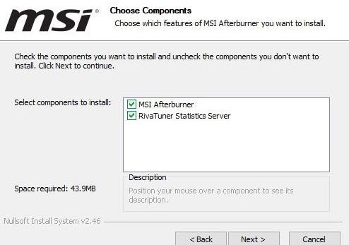 Msi System Temperature Monitor