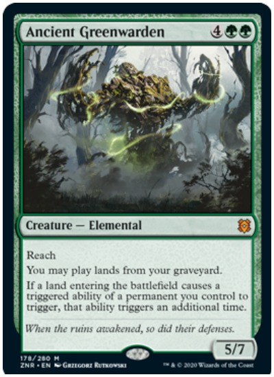 ZNR Ancient Greenwarden