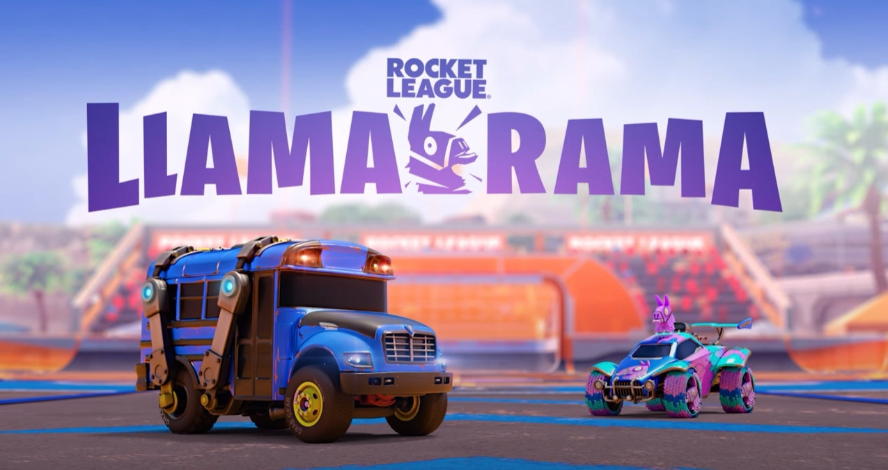 How To Get The Battle Bus Fortnite Car In Rocket League Dot Esports