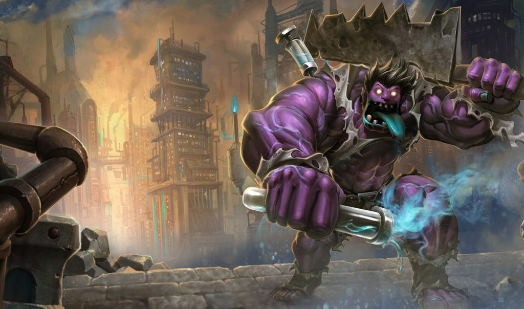 Riot teases the new big and burly Dr. Mundo | Dot Esports