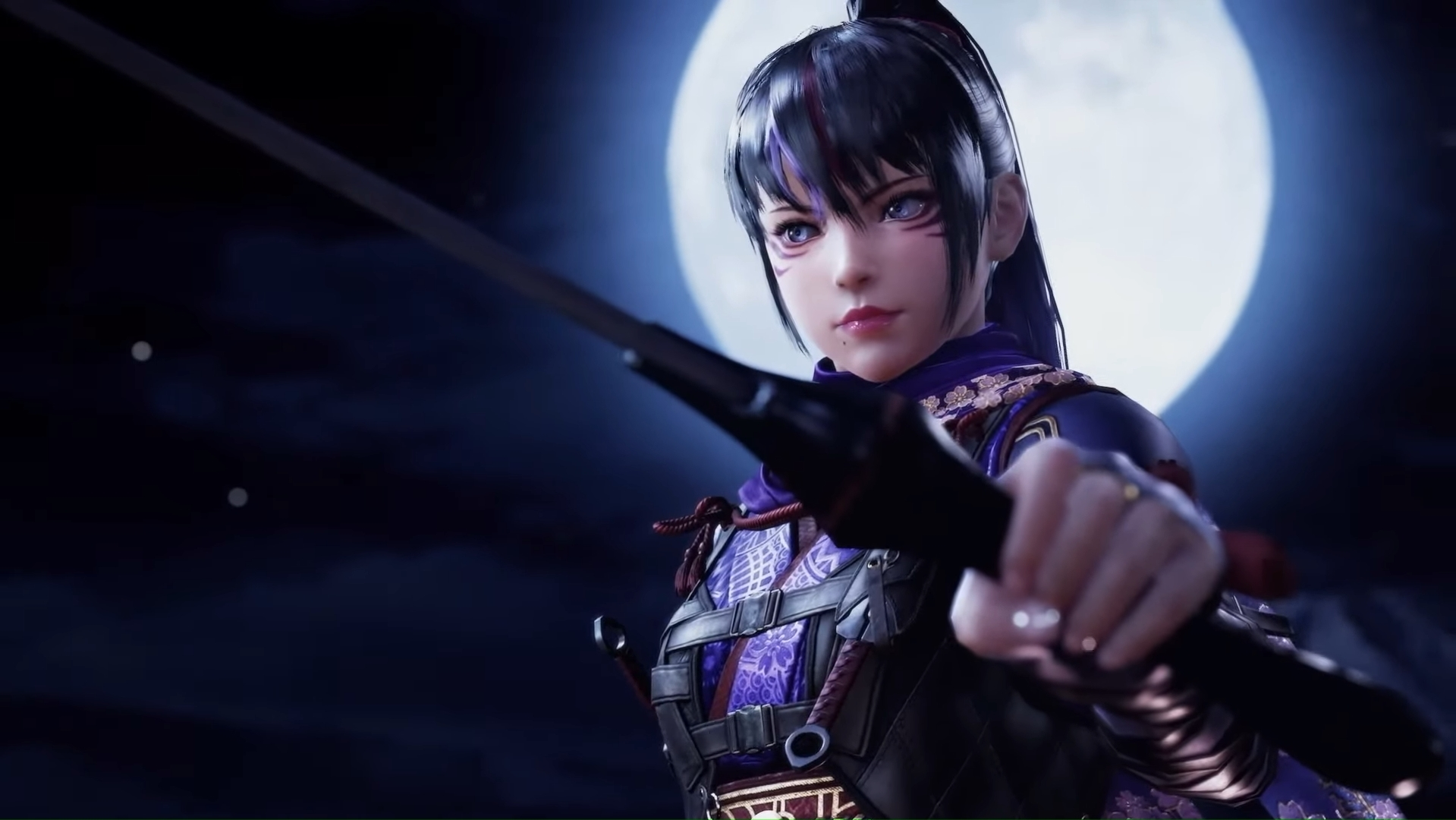 Kunimitsu II will bring her ninja ways to Tekken 7 this fall