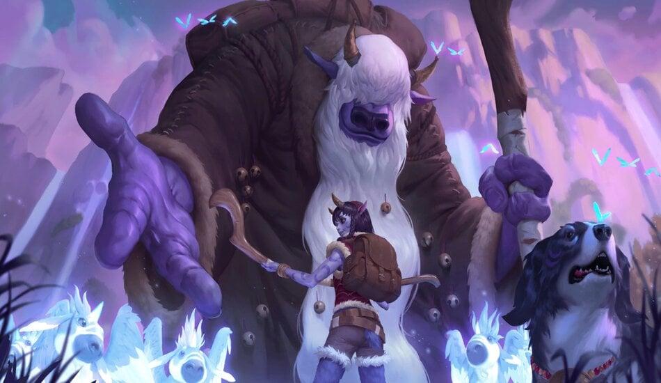 Legends of Runeterra Grandfather Rumul