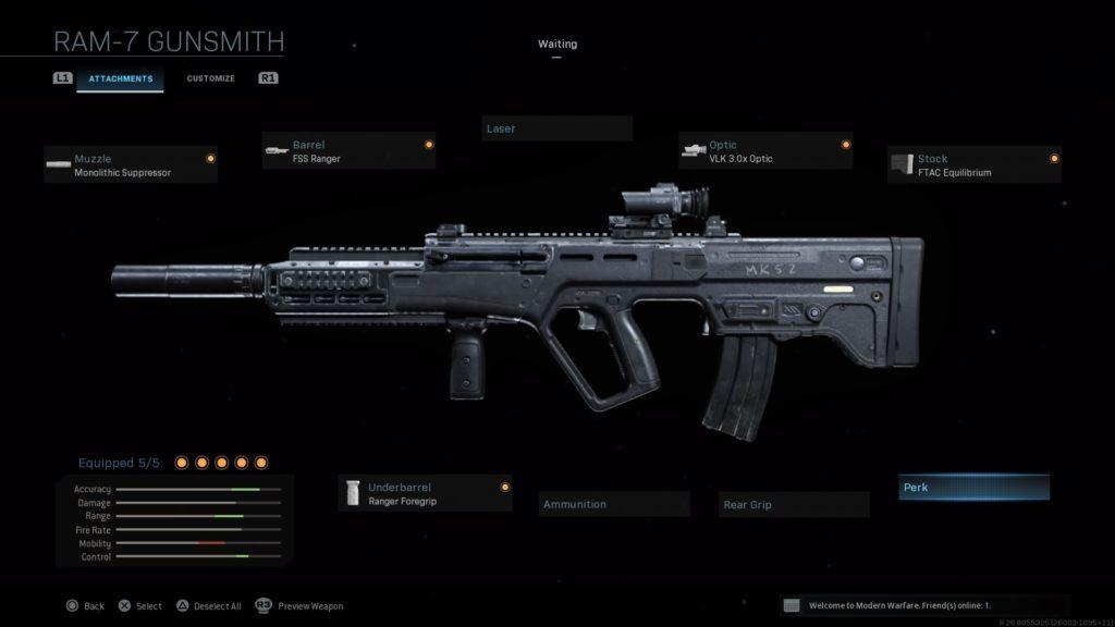 The best RAM-7 loadouts in Call of Duty: Modern Warfare ...