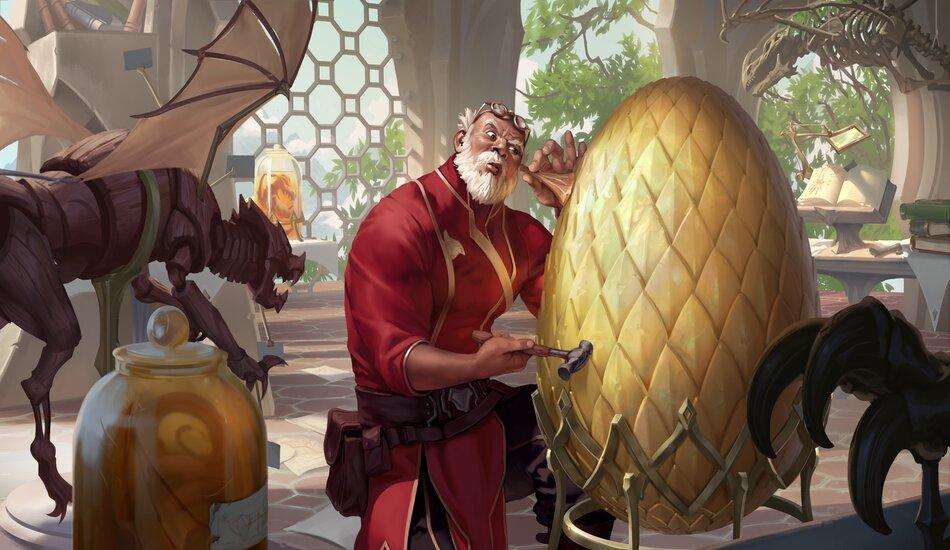 Legends of Runeterra Egghead Researcher MoP