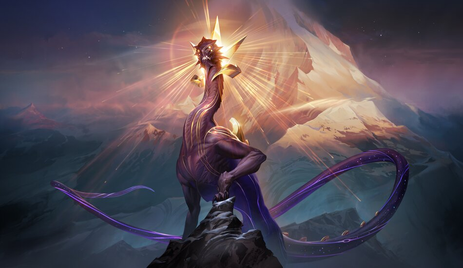 Legends of Runeterra Eclipse Dragon