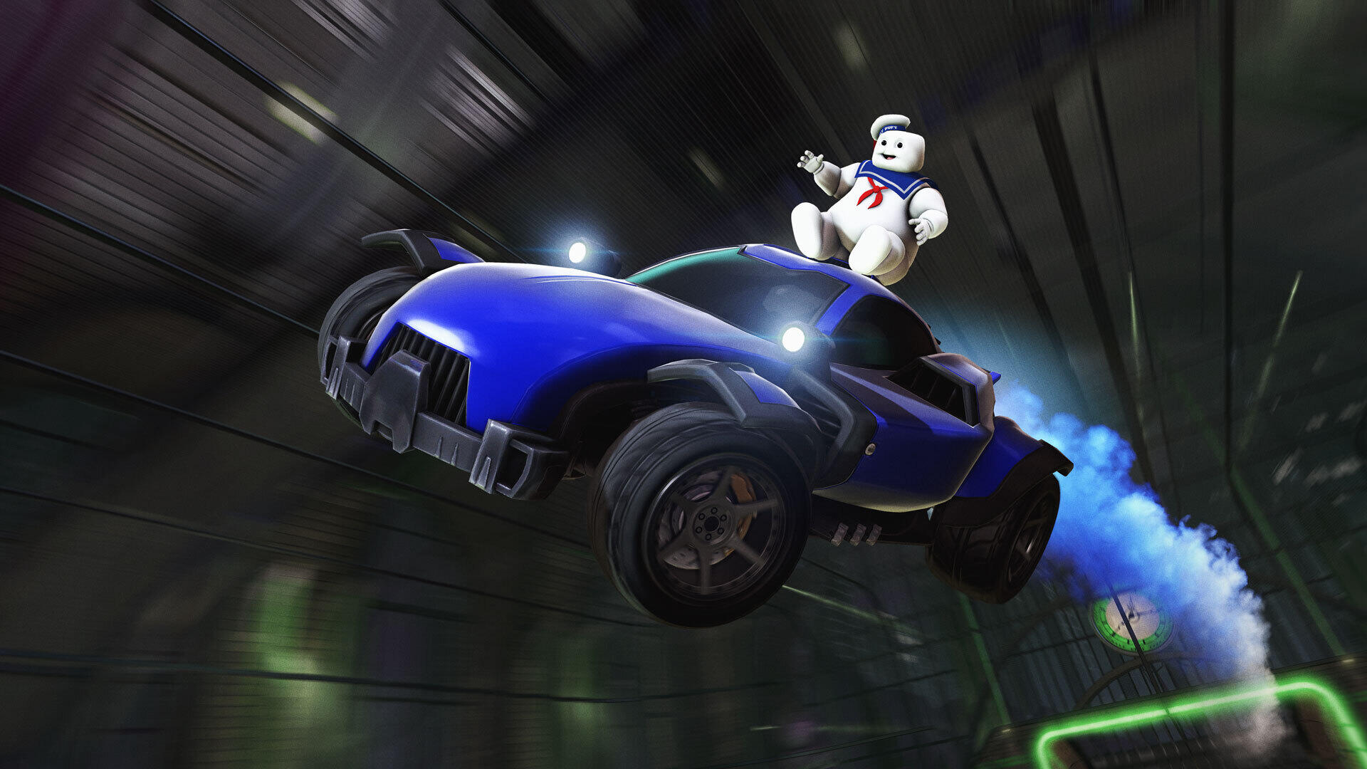 Rocket League celebrates Ghostbusters with Haunted Hallows, live today