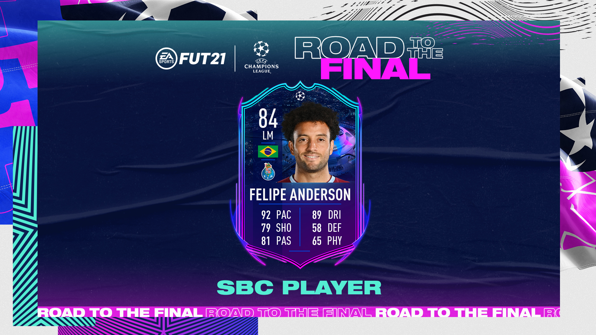 How to complete UCL RTTF Felipe Anderson SBC in FIFA 21 ...