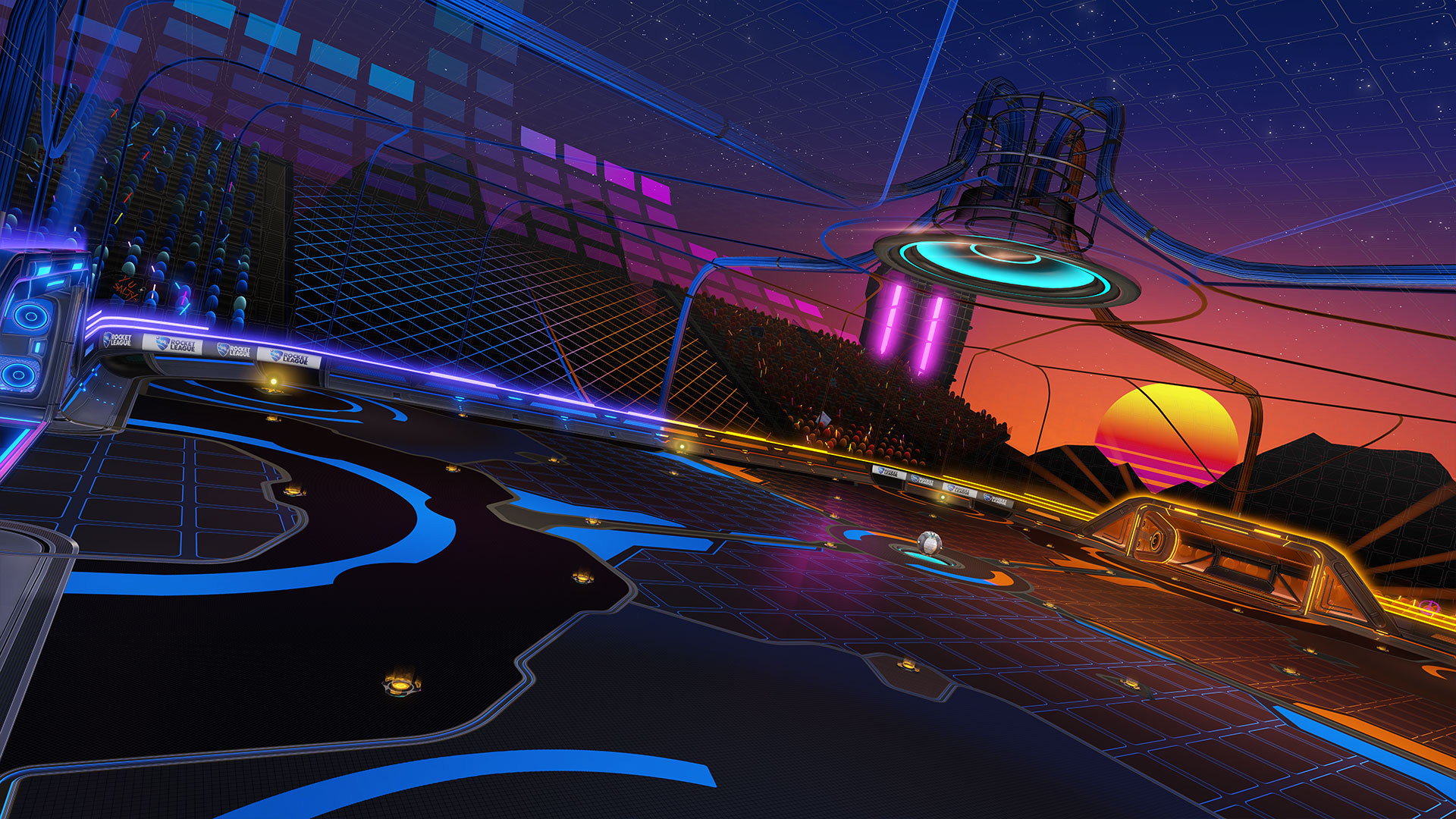 Rocket League Season 2 Dials Neon Up to Eleven