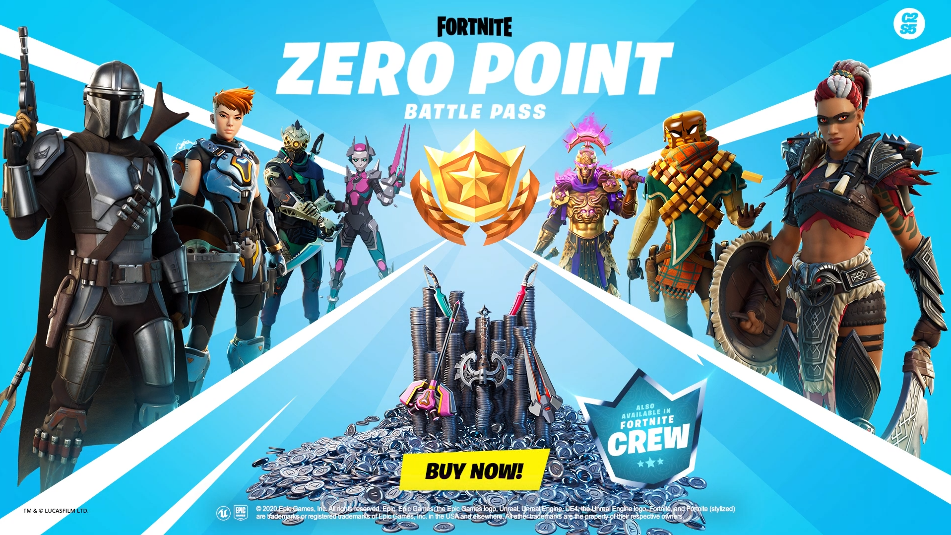 All Fortnite Chapter 2 Season 5 Battle Pass Rewards Dot Esports Not only is he the tier 100 skin, but you can improve his base style by. all fortnite chapter 2 season 5 battle