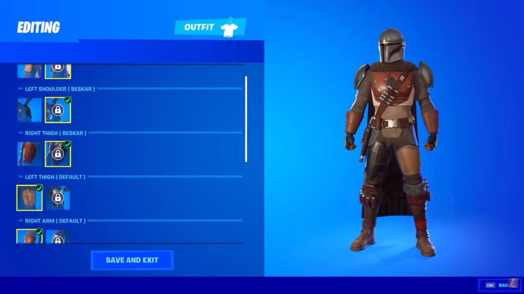 Fortntie Mandalorian / They even have a razorcrest glider included and you can acquire.
