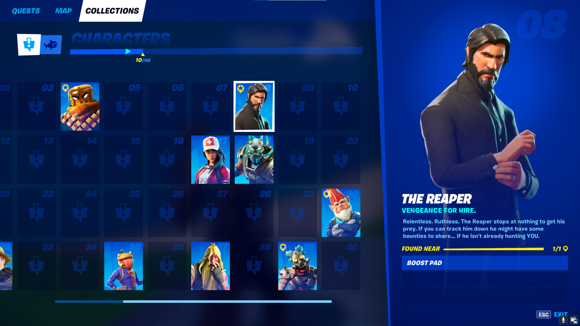 All 41 Character Locations In Collections In Fortnite Chapter 2 Season 5 Dot Esports Fortnite chapter 2 season 5 means a new map, and thanks to hypex we already know what it looks like. in fortnite chapter 2 season 5