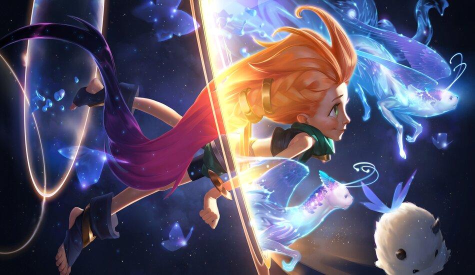 Legends of Runeterra Zoe