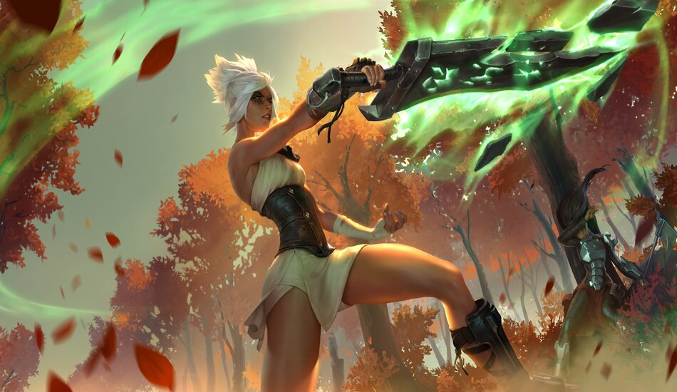 Legends of Runeterra Riven