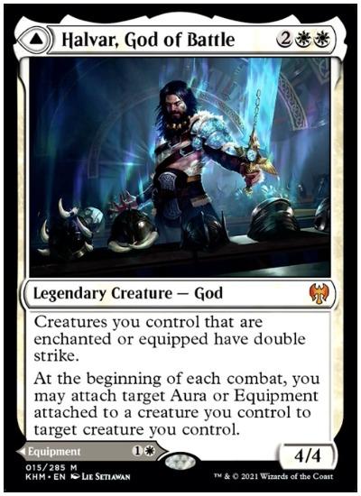 KHM Halvar God of Battle