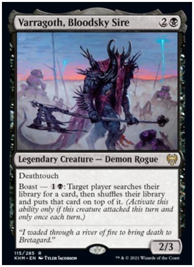 KHM Varragoth, Bloodsky Sire