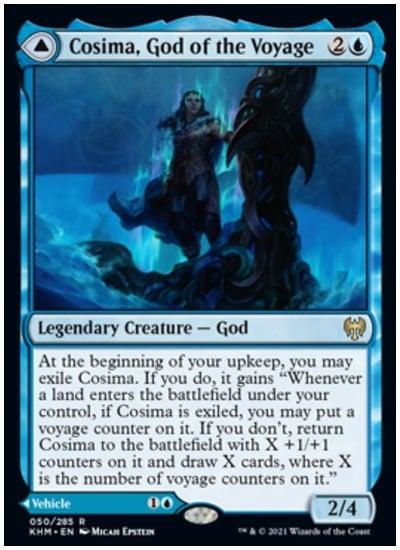 KHM Cosima, God of the Voyage