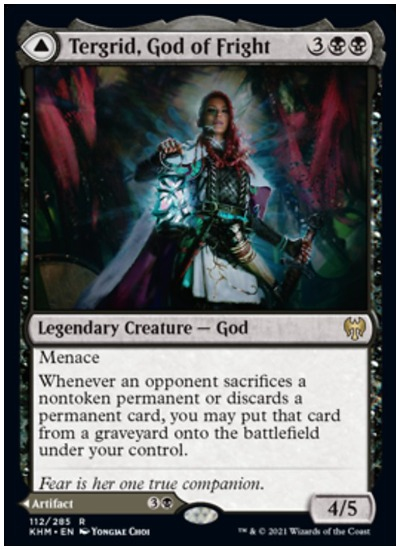 KHM Tergrid, God of Fright
