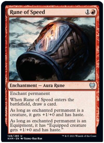 KHM Rune of Speed
