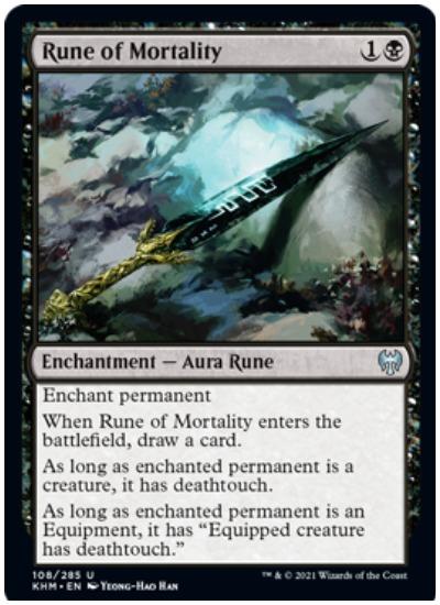 KHM Rune of Mortality