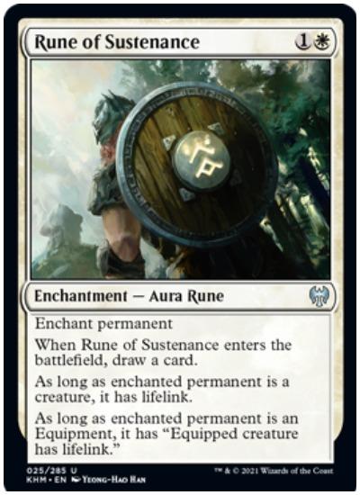 KHM Rune of Sustenance