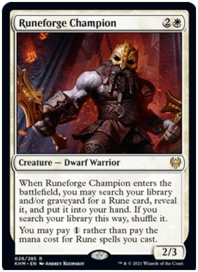 KHM Runeforge Champion