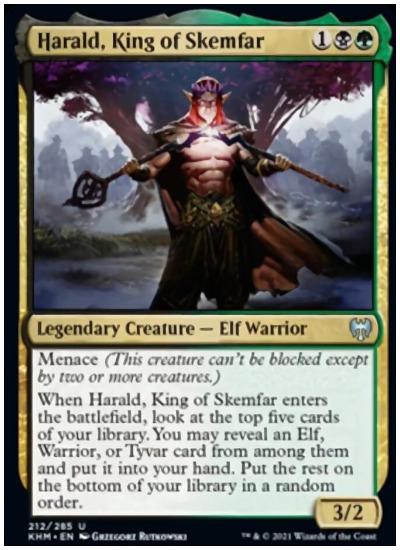 KHM Harald, King of Skemfar
