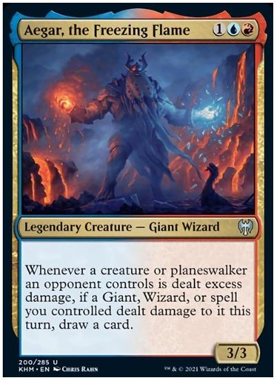 KHM Aegar, the Freezing Flame