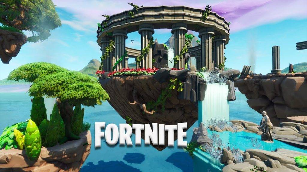 Fortnite 1v1 Map All Weapons On Floor With Grapplers The 8 Best Fortnite One Vs One Maps Dot Esports