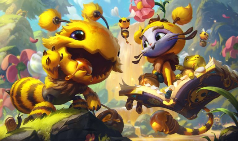 Bee-themed skins for Yuumi, Malzahar, and Kog'Maw unveiled in League PBE preview - Dot Esports