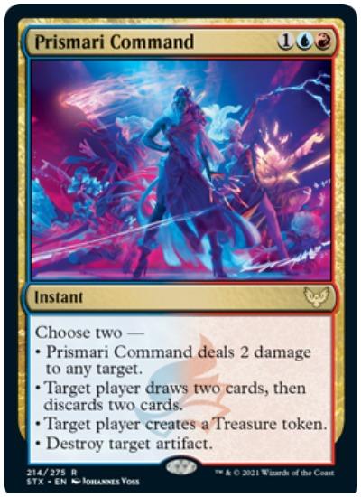 Prismari Command Strixhaven