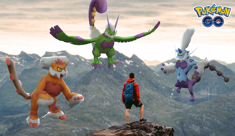 How to get Therian Forme Tornadus, Thundurus, and Landorus in Pokémon Go