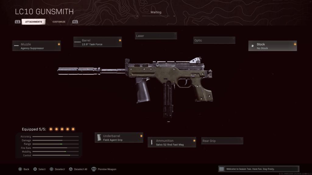 Le meilleur équipement LC10 pour Call of Duty: Warzone