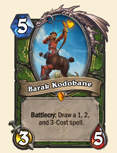 El cazador legendario Barak Kodobane se une a la expansión Forged in the Barrens de Hearthstone