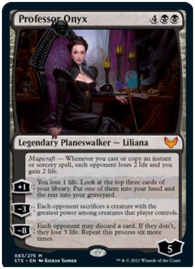 Professor Onyx STX Liliana