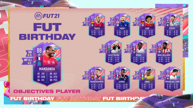 How to complete FUT Birthday Mandanda's objectives in FIFA 21 Ultimate Team