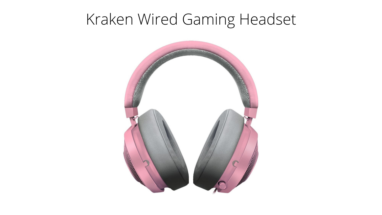 Razer Kraken Wired Gaming Headset