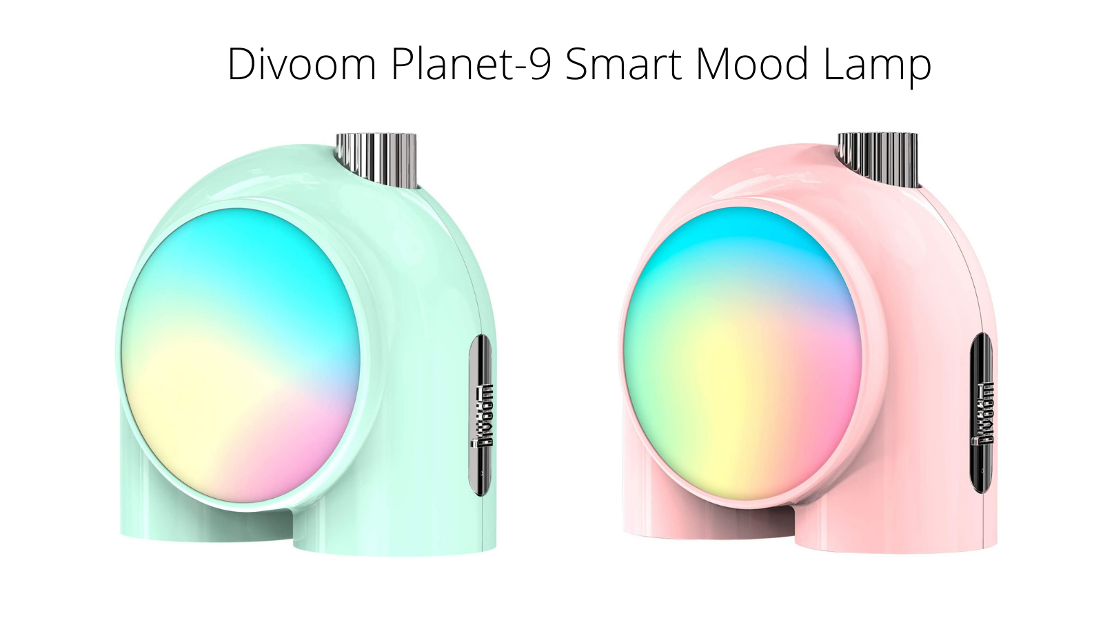 Divoom Planet-9 Smart Mood Lamp