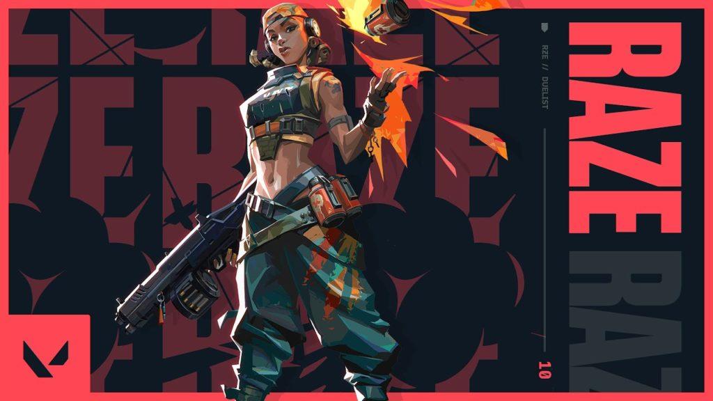 Raze Image via Riot Games