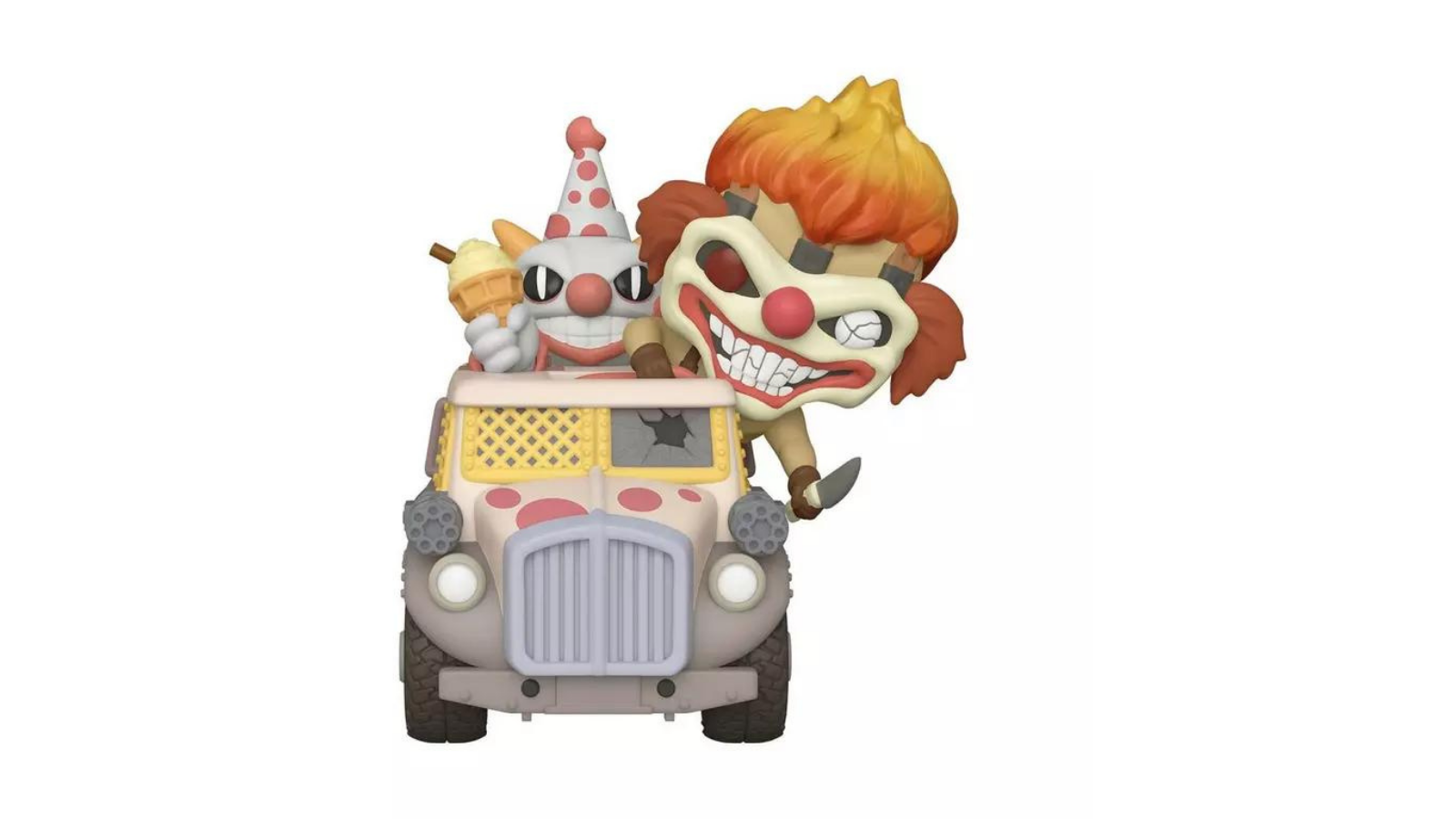 Bestseller Accessible Carousel POP! Rides: Twisted Metal Sweet Tooth with Ice Cream Truck Only at GameStop POP! Rides: Twisted Metal Sweet Tooth with Ice Cream Truck