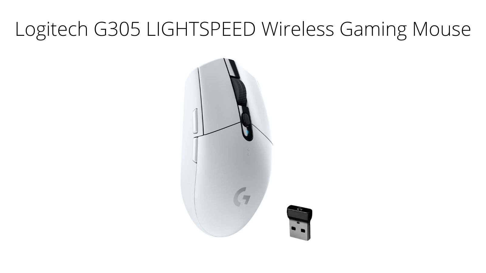Logitech G305 LIGHSTPEED Wireless Gaming Mouse