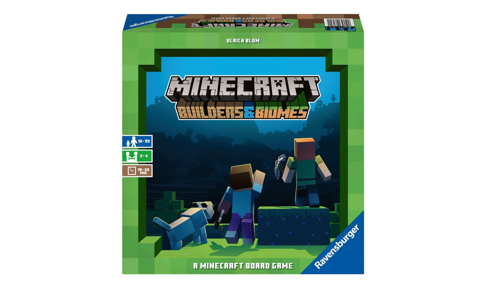 Ravensburger Minecraft- Builders & Biomes Strategy Board Game