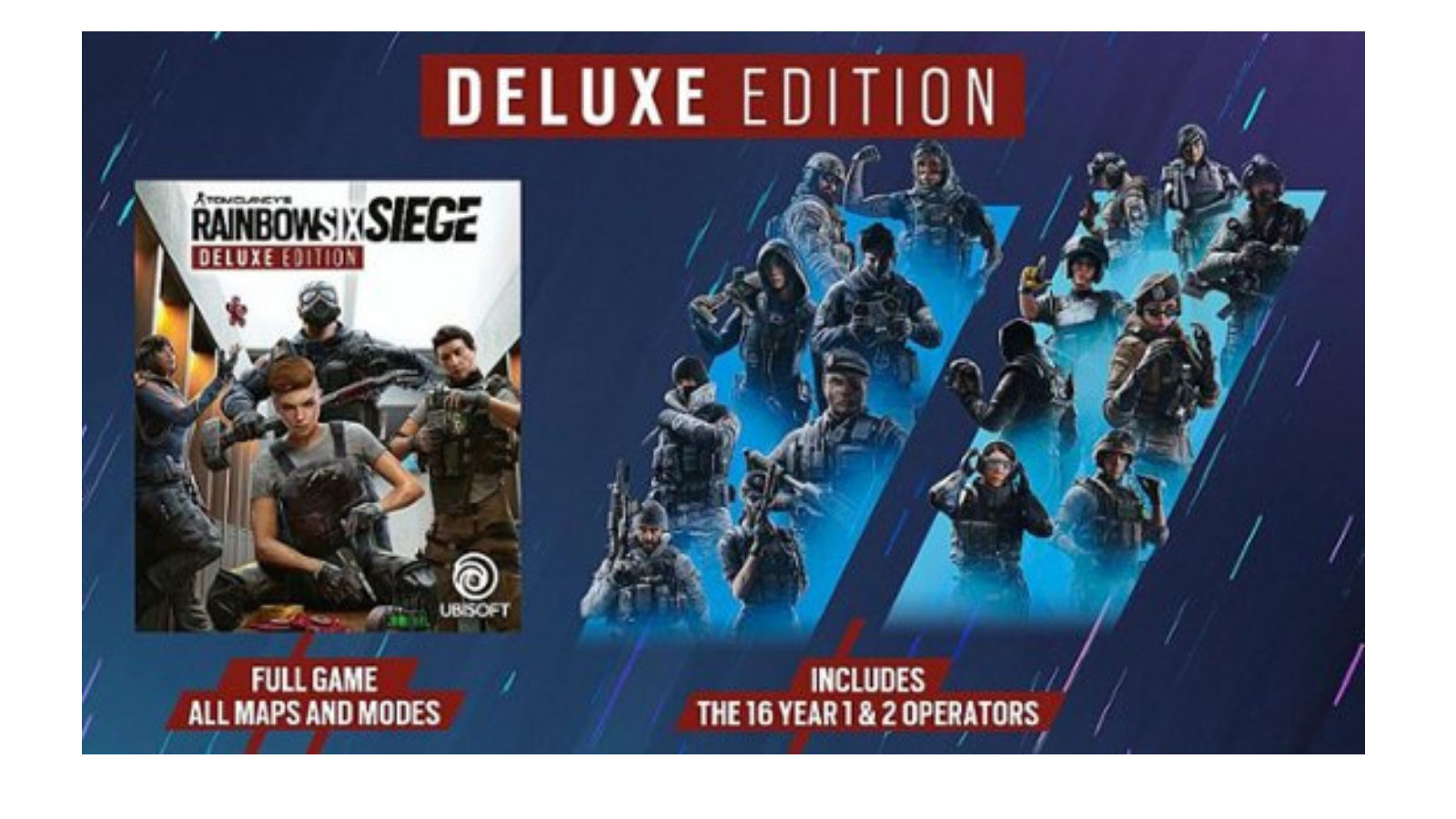 Save $25 on Tom Clancy's Rainbow Six Siege Deluxe Edition