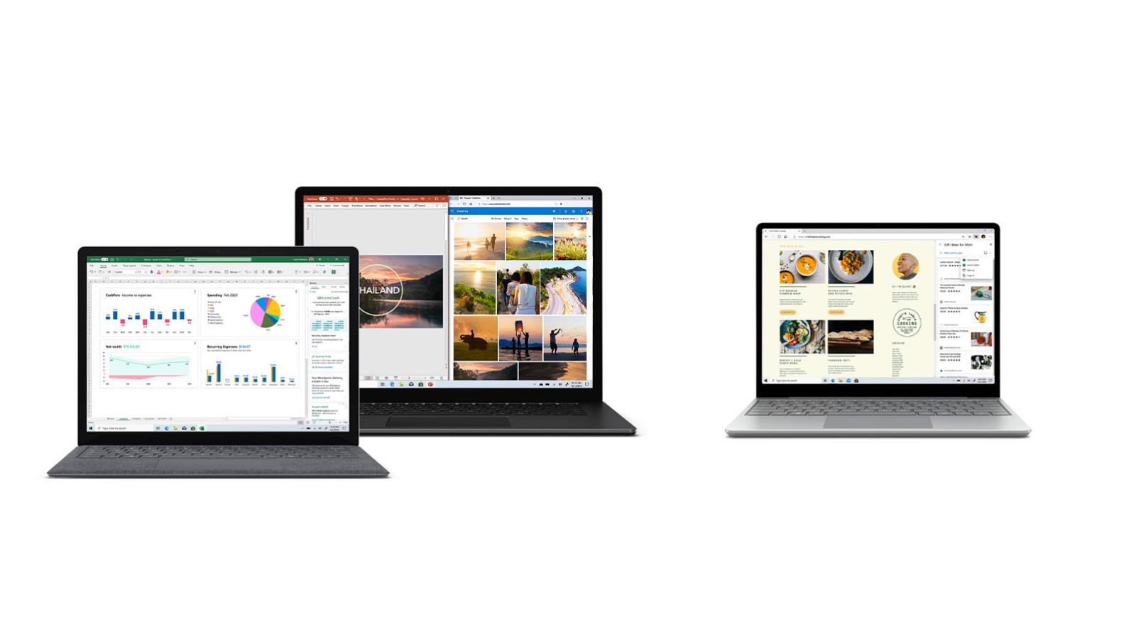 surface laptops