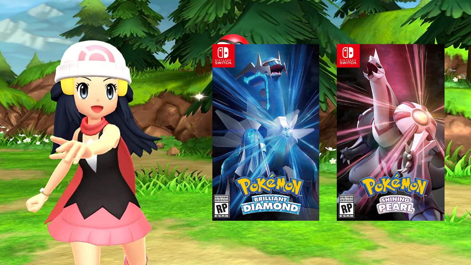 Pokemon Brilliant Diamond & Pokemon Shining Pearl